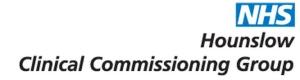 Hounslow CCG Logo